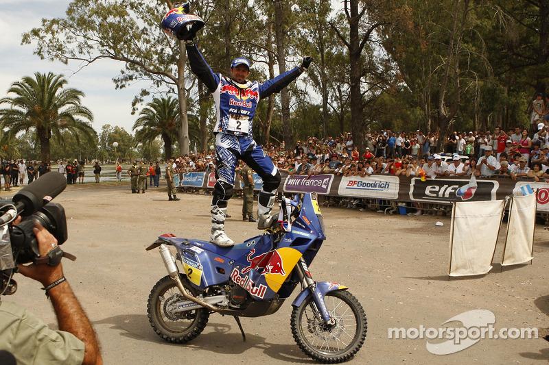 Cyril Despres, KTM, 5 Dakar