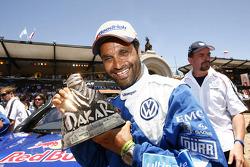 Podium catégorie AutosDakar 2010 : Al Attiyah, 2e