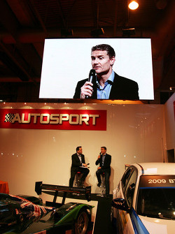 David Coulthard being interviewed
