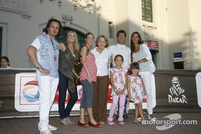 Orleto Terranova avec sa famille