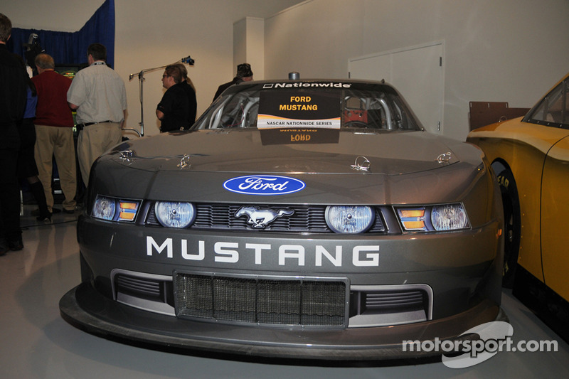 Une Mustang, nouvelle voiture Nationwide Series