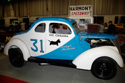 Vic Cesare drove the #31 at Harmony Speedway, a 5/8 mile dirt