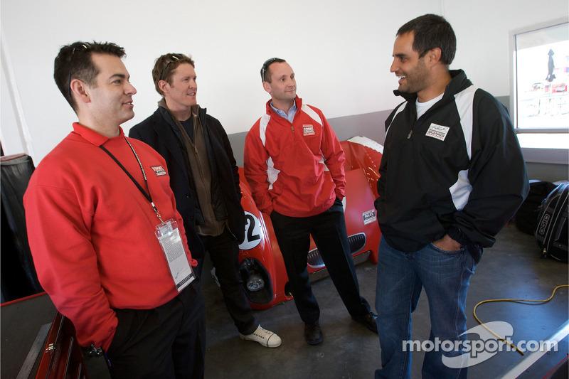 Scott Dixon et Juan Pablo Montoya