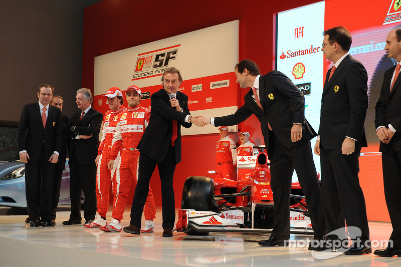 La Ferrari F10 est présentée