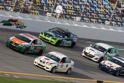 #50 Irish Mike's Racing Volkswagen Jetta: Mario Hart, Carlos Lira, #24 V-Pack Motorsport BMW 330: Sam Schultz, Ari Straus, #79 Kinetic Motorsports BMW M3 Coupe: Chris Hall, Chris Prusinski