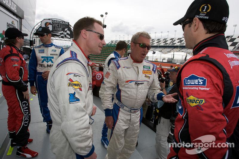 David Donohue, Hurley Haywood et Jimmie Johnson