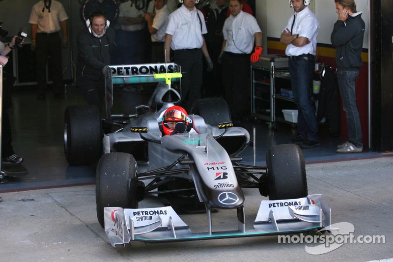 Міхаель Шумахер, Mercedes GP