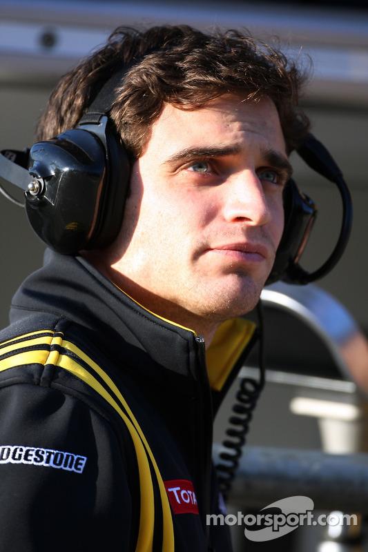 Jerome D'Ambrosio, Test Driver, Renault F1 Team