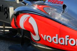 McLaren Mercedes side pod detail