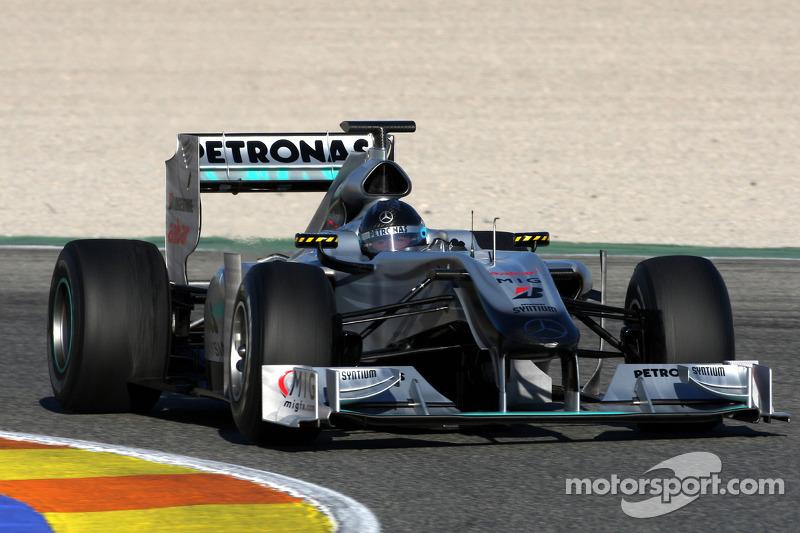 2010 Valencia: Mercedes