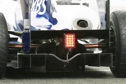 Nico Hulkenberg, Williams F1 Team, FW32 rear diffuser