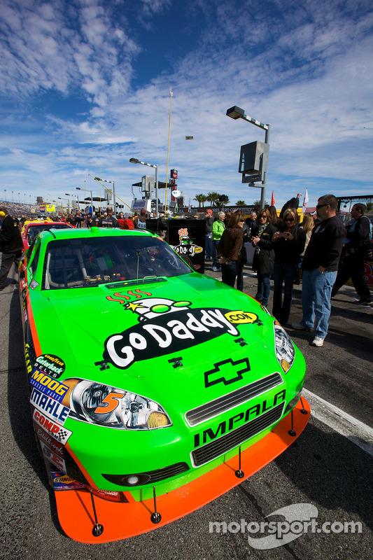 Polepositie voor  Mark Martin, Hendrick Motorsports Chevrolet