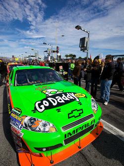 Pole winning car of Mark Martin, Hendrick Motorsports Chevrolet