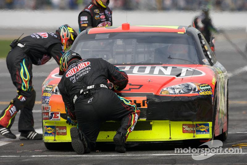 Arrêt au stand pour Jeff Gordon de Chevrolet