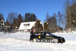 Marcus Gronholm en Timo Rautianen, Ford Focus RS WRC 08, Stobart VK M-Sport Ford Rally Team