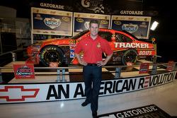 Champion's breakfast: 2010 Daytona 500 winner Jamie McMurray