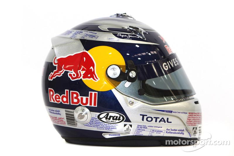 Sebastian Vettel, Red Bull Racing helm