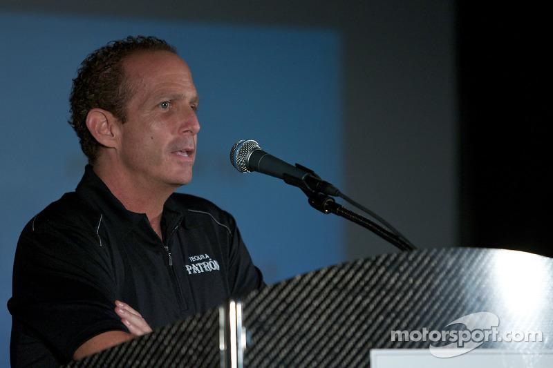 Tequila Patron, sponsor van de American Le Mans Series: Ed Brown