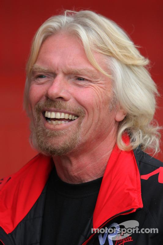 Sir Richard Branson, voorzitter Virgin Group