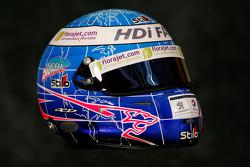Helmet of Stéphane Sarrazin
