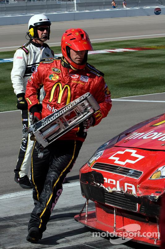 Pitstop Jamie McMurray, Earnhardt Ganassi Racing Chevrolet