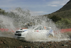 Gianluca Linari en Paolo Gregoriani, Subaru Impreza STI