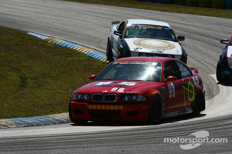 #99 Racing BMW M3 Coupé automatique: Mark Hillestad, Barry Waddell