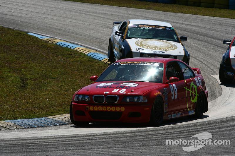 #99 Racing BMW M3 Coupé automatique: Mark Hillestad, Barry Waddell
