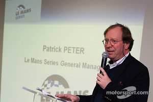Patrick Peter at the original announcement of the Le Mans Series prior to the European LMS name change
