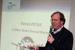 LMS press conference: Patrick Peter on stage