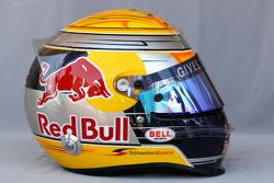Helmet of SSebastien Buemi, Scuderia Toro Rosso