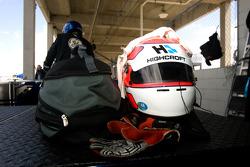 Helmet of Marco Werner
