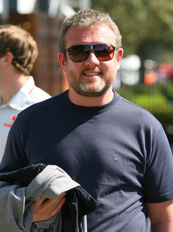 Richard Goddard, manager of Jenson Button, McLaren Mercedes