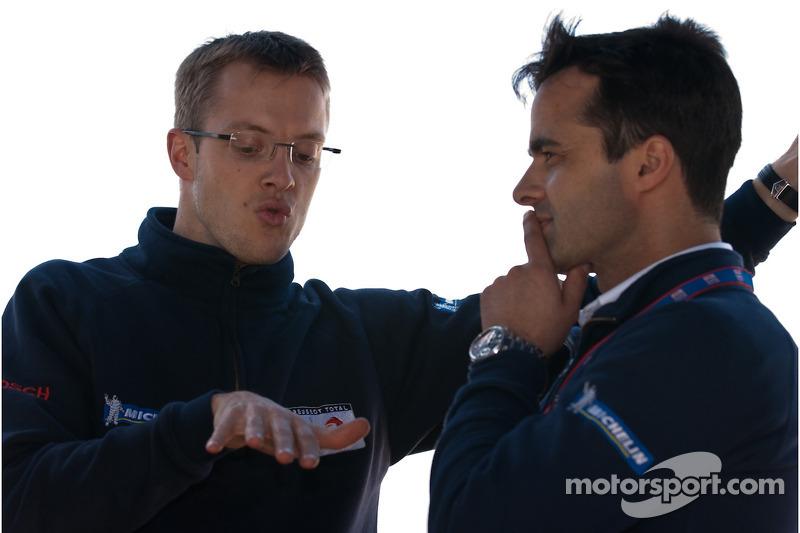 Sébastien Bourdais et Pedro Lamy