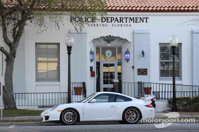 Porsche GT3: writer Jonathan Ingram's ride at Sebring