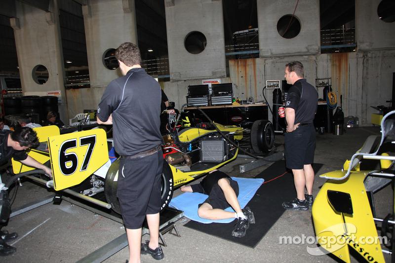 Auto van Graham Rahal, Sarah Fisher Racing