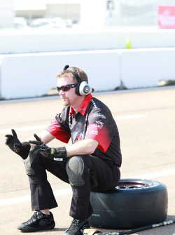 Andretti Autosport team member