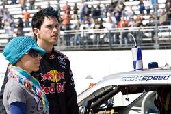Scott Speed, Red Bull Racing Team Toyota and wife Amanda Mathis