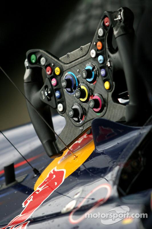 Stuurwiel Sebastian Vettel, Red Bull Racing