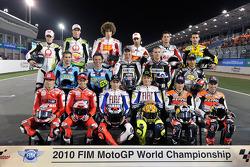 MotoGP bikes photoshoot: the MotoGP bikes for the 2010 season
