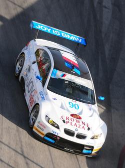 #90 BMW Rahal Letterman Racing Team BMW M3 GT: Dirk Muller, Joey Het