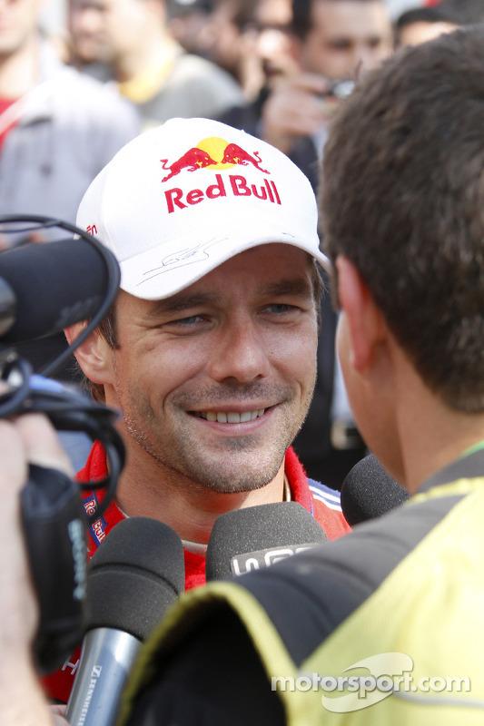 Rally winnaar Sébastien Loeb