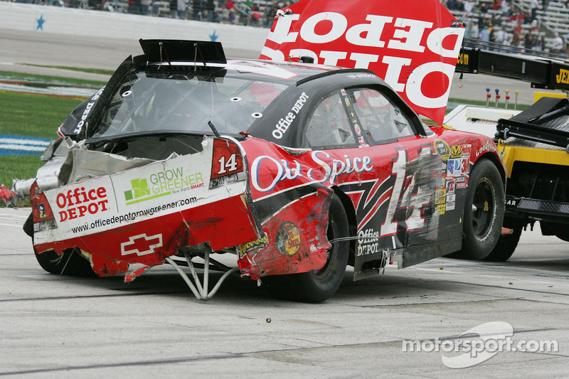 Auto van Tony Stewart, Stewart-Haas Racing Chevrolet na de crash