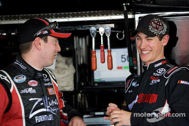 Kyle Busch et Joey Logano