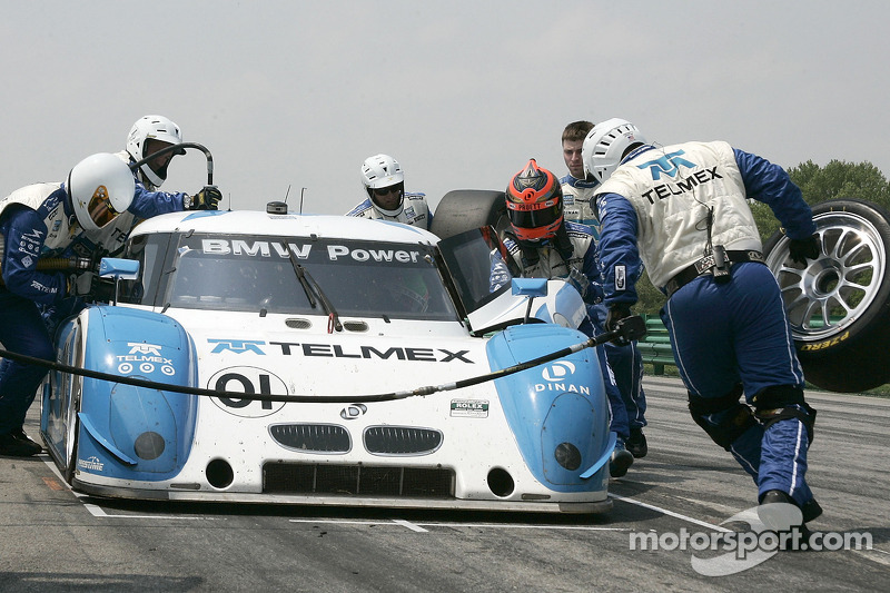 Pitstop #01 Chip Ganassi Racing with Felix Sabates BMW Riley: Scott Pruett, Memo Rojas