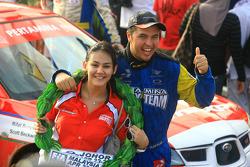 Rifat Sungkar of Pertamina Rally Team