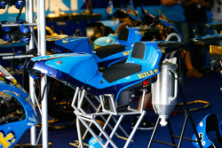 Stand de Rizla Suzuki MotoGP