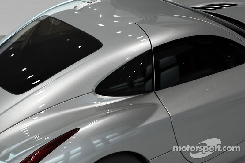 Teaserfoto van de nieuwe Panoz, de Abruzzi Spirit of Le Mans