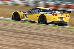 #14 Phoenix Racing / Carsport Corvette Z06: Mike Hezemans, Anthony Kumpen