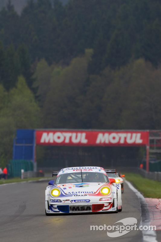La Porsche 997 GT3 RSR N°76 (Raymond Narac, Patrick Pilet)
